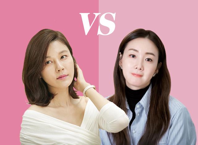 김하늘 vs 최지우