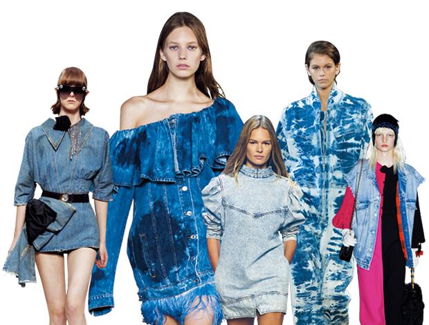 80년대로 돌아간 패션 트렌드