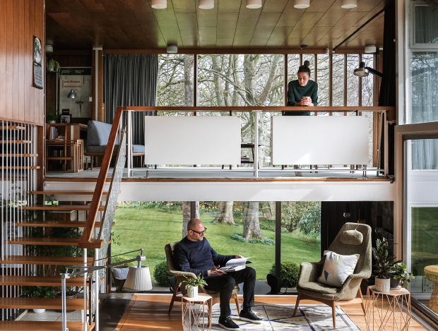 영국 모던 주택 디자인 프로젝트
