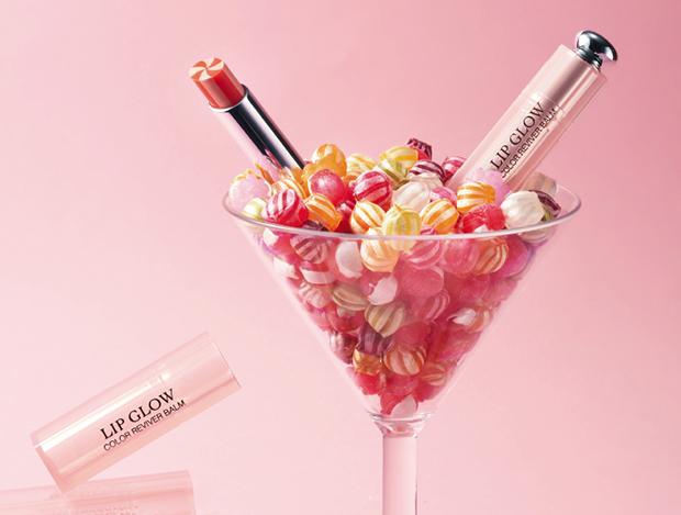막대사탕처럼 달콤함이 넘치는 립메이크업