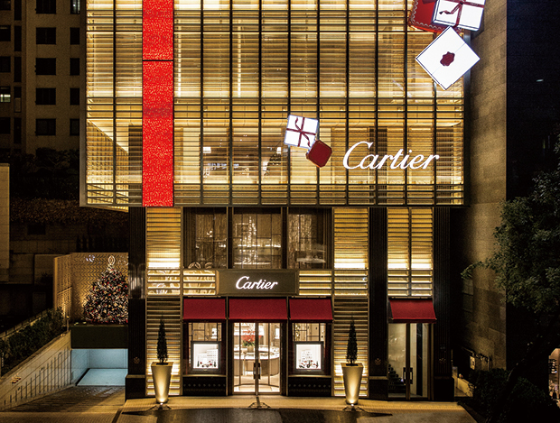 DAZZLING CHRISTMAS  of CARTIER
